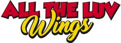 ATL WINGS – ALL THE LUV Logo