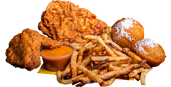 ATL Wings 2-Piece Chicken Meal